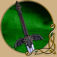 LARP Two Handed sword- Kain The Dragon Knight